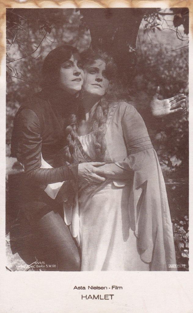Asta Nielsen as Hamlet