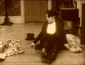 Charlie Chaplin in One AM (1916)