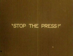 An intertitle from The Power of the Press