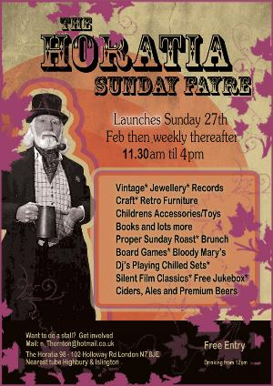 The Horatia Sunday Fayre