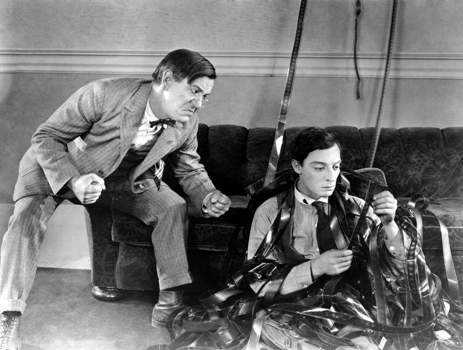 a review of sherlock jr a film by buster keaton Buster keaton's sherlock jr has 10 ratings and 0 reviews buster keaton's  sherlock jr focuses on a classic by one of america's greatest silent film g.