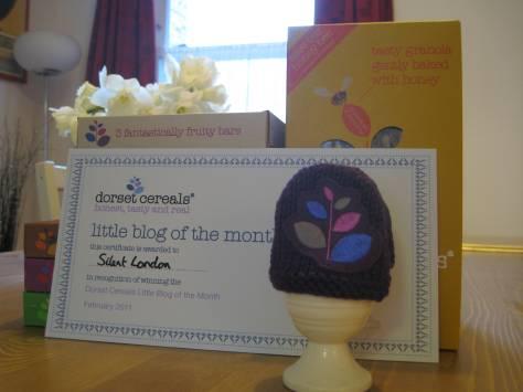 Little Blog Award prizes