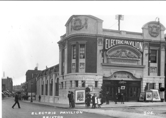 The Ritzy Cinema, Brixton as it used to look.