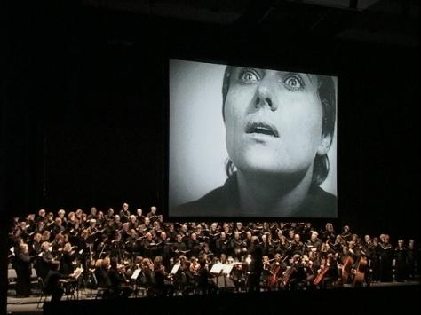 Richard Einhorn's Voices of Light, performed in Fairfax, VA in 2001