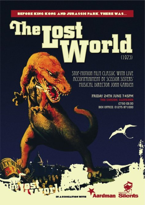 The Lost World with live score by John Garden