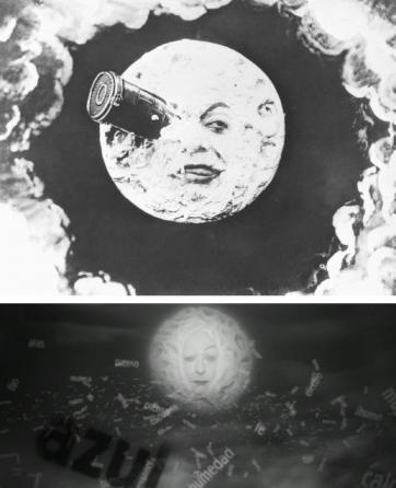 Méliès's 'Le Voyage Dans le Lune', La Antena