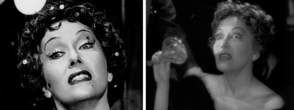 """We didn't need dialogue. We had faces!"" Norma Desmond (Gloria Swanson) in Billy Wilder's Sunset Boulevard (1950), from Fashion Indie and Le Clown Lyrique"
