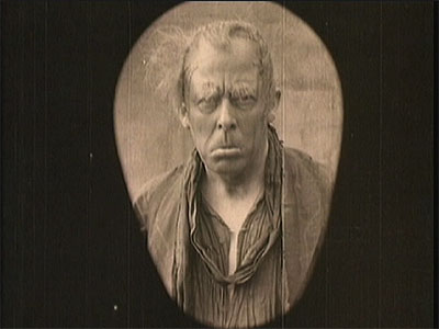 Seymour Hicks as Ebenezer in Scrooge (1913)