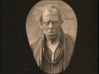 Seymour Hicks as Ebenezer in Scrooge (1913)
