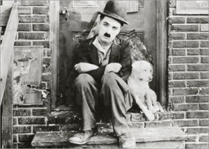 Charlie Chaplin and Scraps in A Dog's Life (1918)