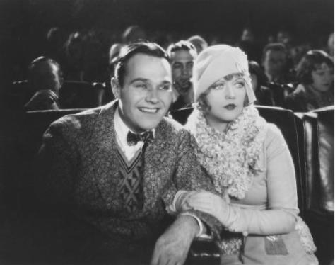 William Haines and Marion Davies in Show People (1928)