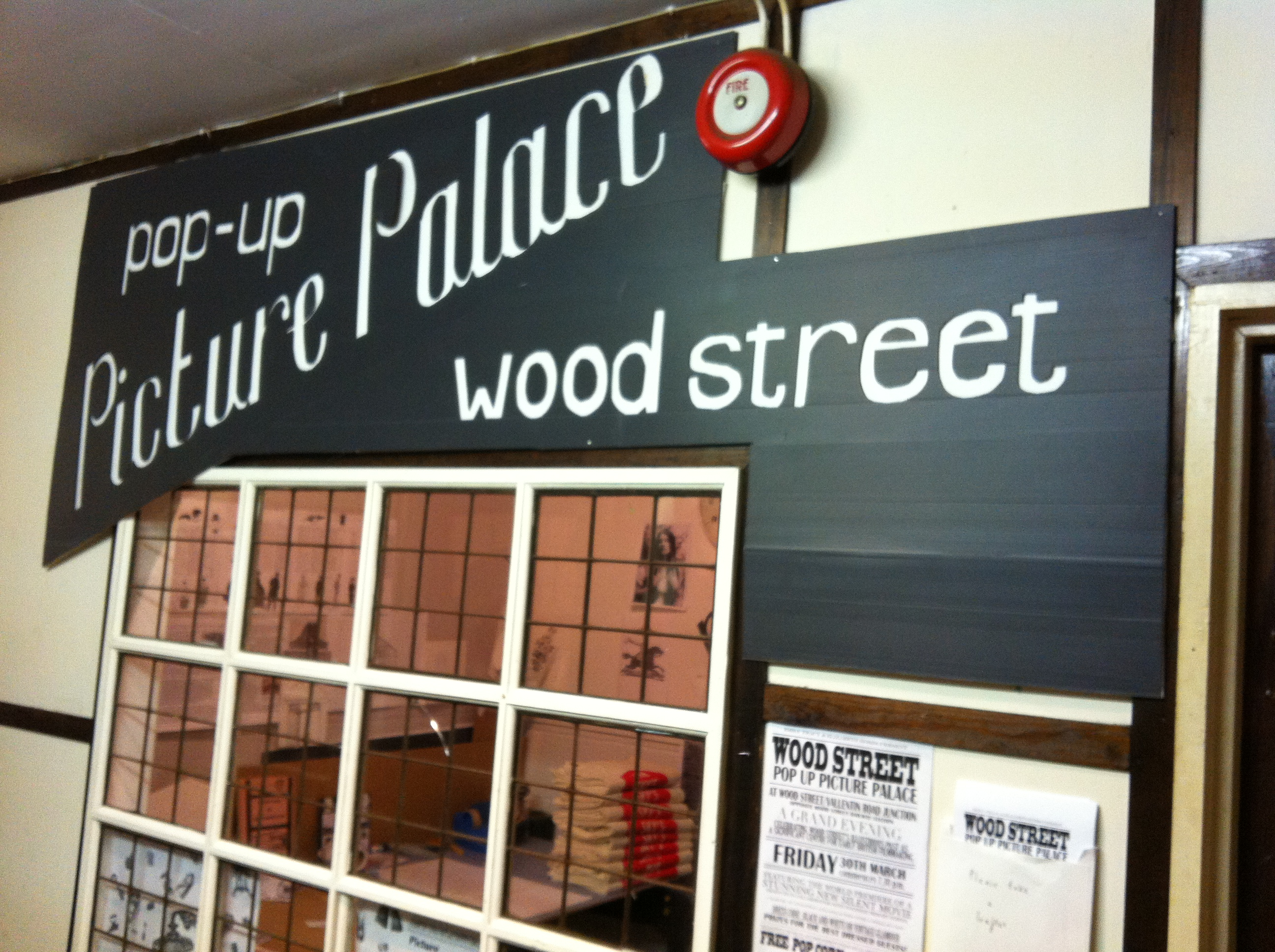 The Picture Palace's home in Wood Street Indoor Market