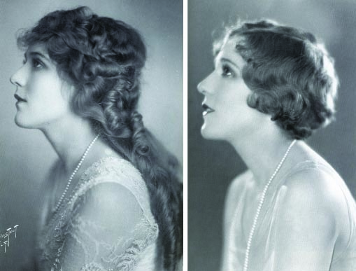 Mary Pickford's bob
