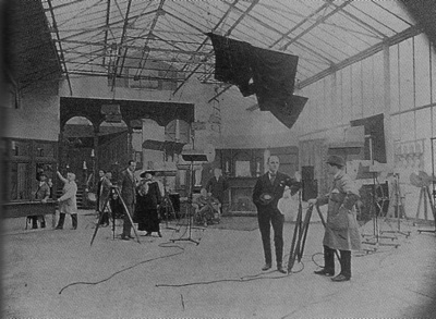 Broadwest Film Company's Wood Street studio, Walthamstow
