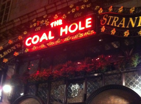 The Coal Hole on the Strand