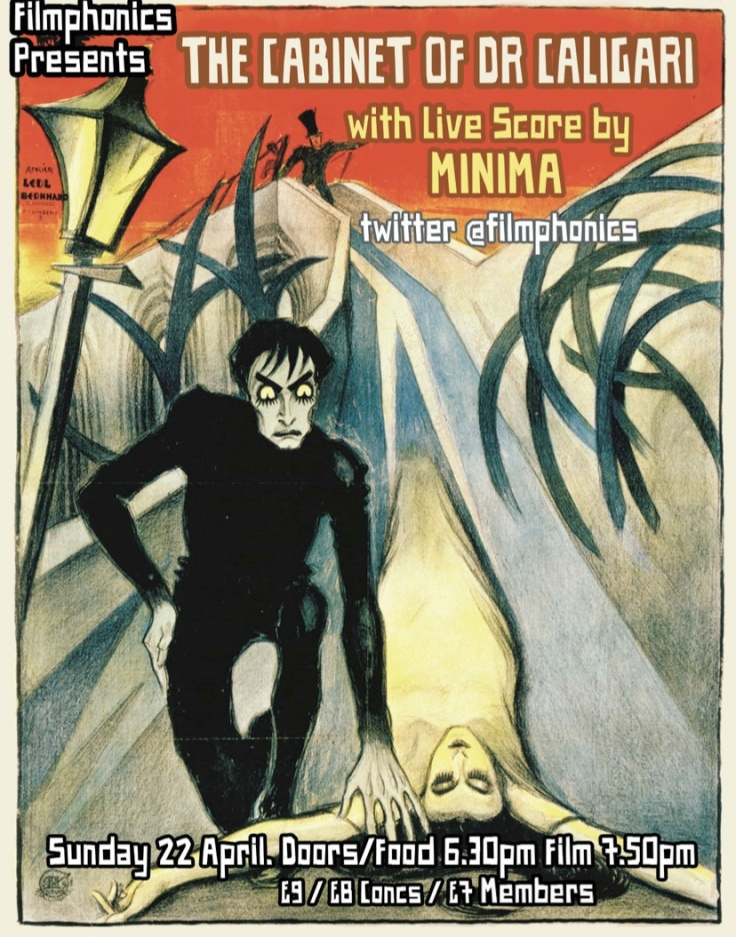 Filmphonics presents The Cabinet of Dr Caligari