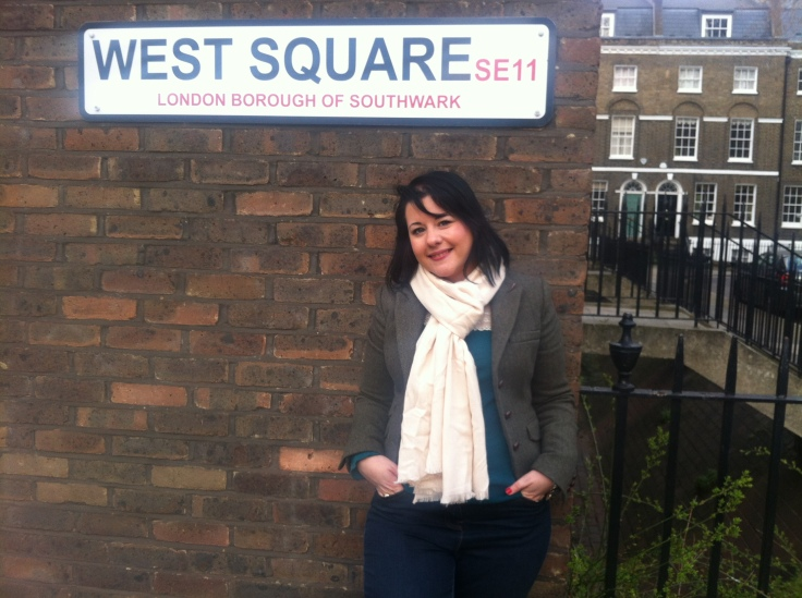 Ayse in West Square