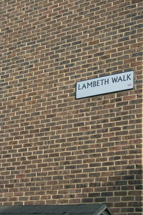 Doing the Lambeth Walk ...