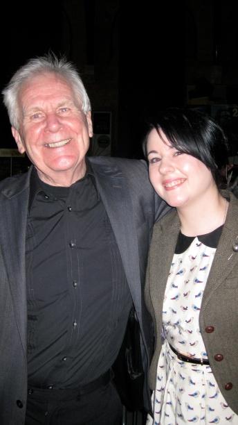David Robinson with Ayse Behçet