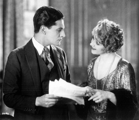 Ivor Novello and Isabel Jeans in Downhill (1927)
