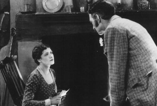 LIllian Hall-Davis and Jameson Thomas in The Farmer's Wife