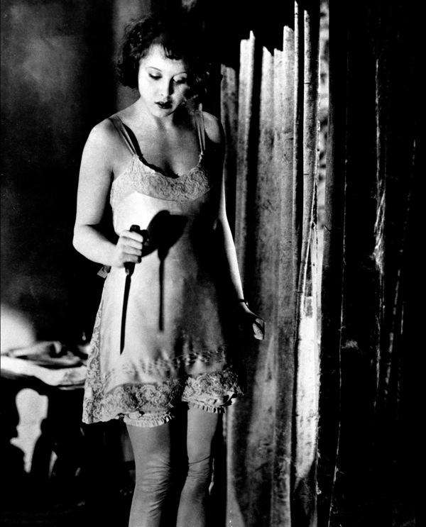 Anny Ondra in Blackmail (1929)