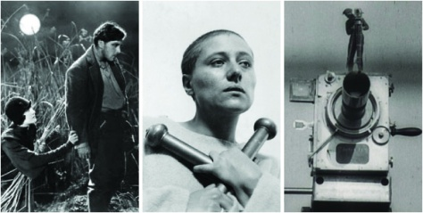 Sunrise: A Song of Two Humans, The Passion of Joan of Arc and Man With a Movie Camera