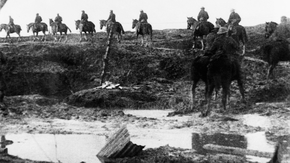 The Battle of the Ancre and the Advance of the Tanks (1917)