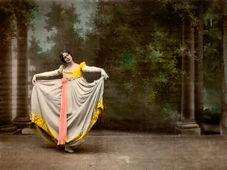 Cléo de Mérode dances Photograph: Cinémathèque française / Gaumont Pathé Archives, Paris