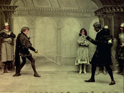Sarah Bernhardt in Hamlet Photograph: Cinémathèque Française/Gaumont Pathé Archives, Paris