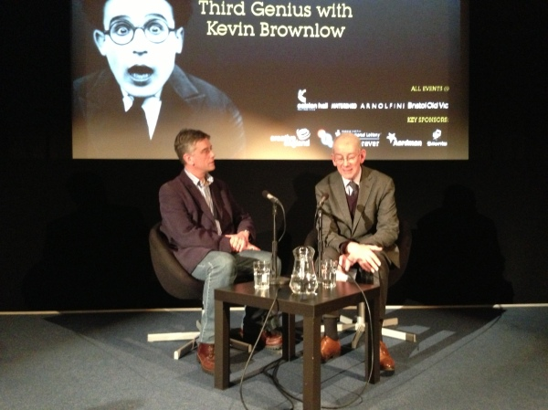 Kevin Brownlow and Christopher Stevens discuss Harold Lloyd at the Slapstick Festival