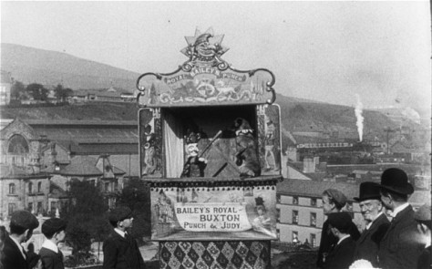 Mitchell and Kenyon's Punch & Judy Show in Halifax.