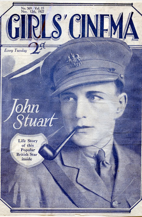 John Stuart, silent movie star