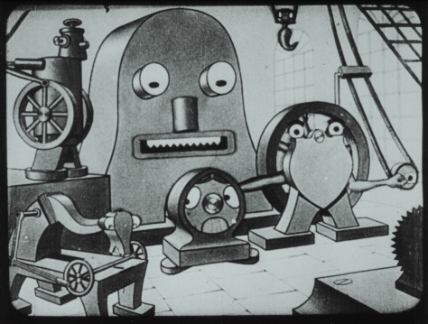 Vintik-Shpintik (TheLittle Screw, 1927)