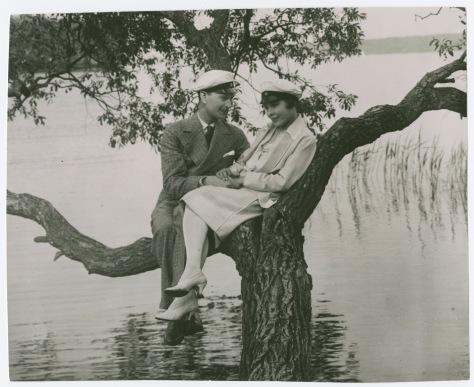 Flickan i frack (1926)