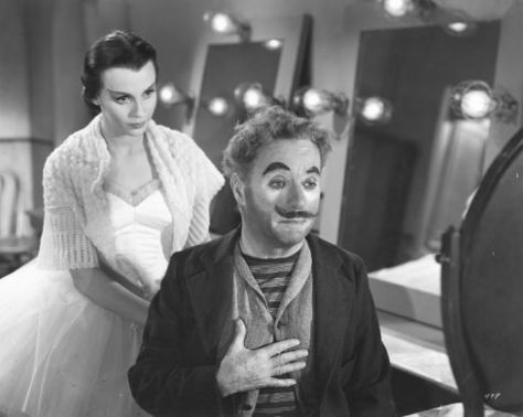Claire Bloom and Charlie Chaplin in Limelight (1952)