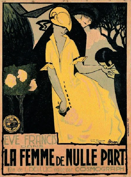 The Woman From Nowhere (Louis Delluc, 1922)