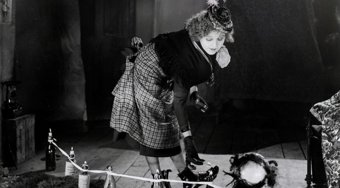 Betty Balfour as Tiny Toes in Love, Life and Laughter (1923)