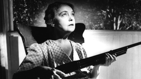 Lillian Gish in The Night of the Hunter (1955)