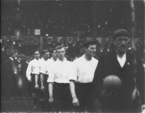 England v Ireland (1905): watch the earliest footage of the national side