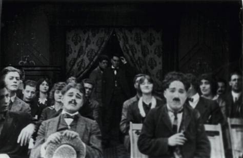 Charlie Chaplin in A Film Johnnie (1914)