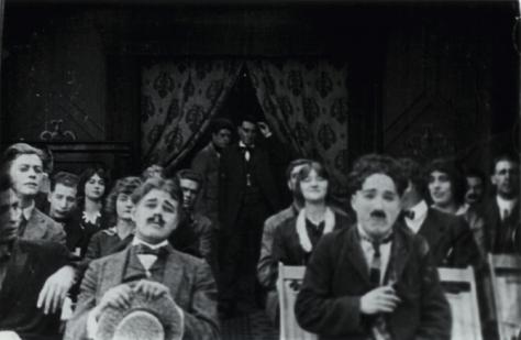 Charlie Chaplin in A Film Johnnie (1914)
