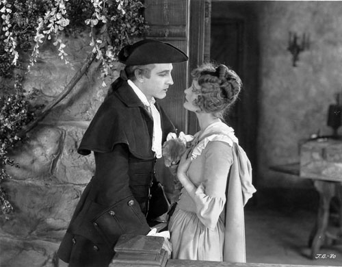 John Barrymore and Delores Costello in When a Man Loves (1927)