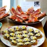 Gloria Swanson's caviar canapés and Greta Garbo's bacon sandwiches
