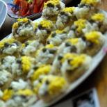 Dorothy Sebastian's anchovy canapés