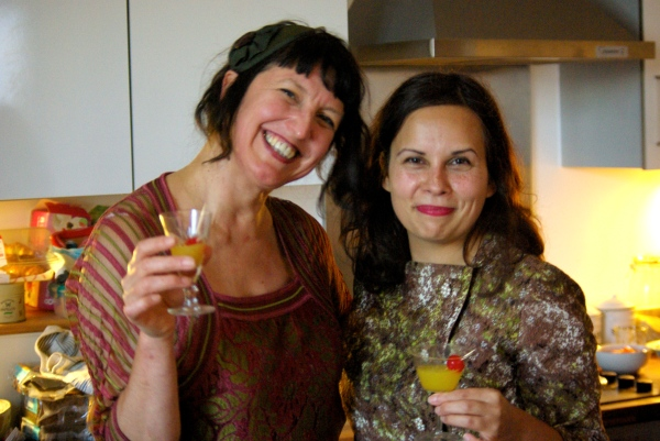 Jenny Hammerton and Nathalie Moris
