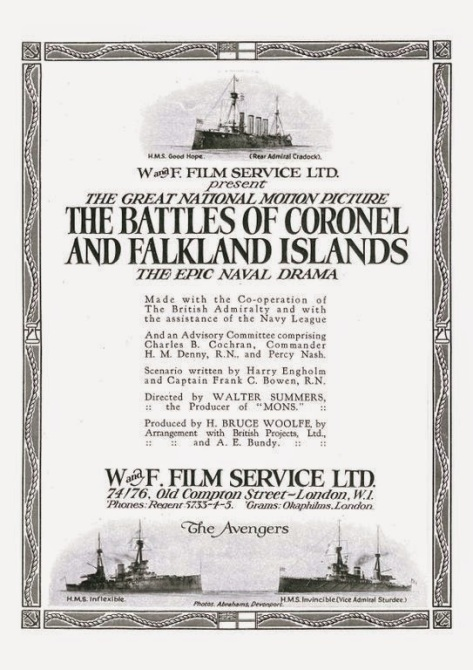 The Battles of Coronel and Falkland Islands (1927)