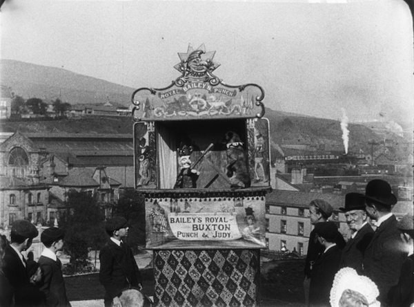 Bailey's Royal Punch & Judy show in Halifax (1901)