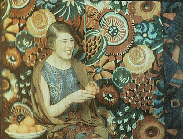 Keller-Dorian: Film Gaufré: Sonia Delaunay (1925)