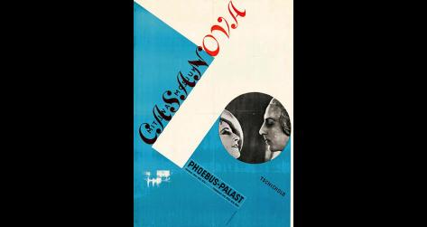 Cassanova, Jan Tschichold, 1927